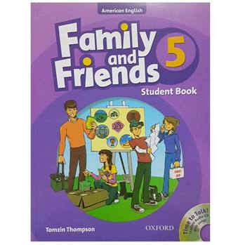 کتاب زبان Family And Friends 5 - Student Book اثر Tamzin Thompson انتشارات Oxford