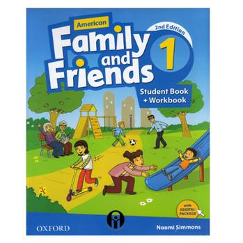 کتاب Family and Friends 1 اثر Naomi Simmons انتشارات الوندپویان