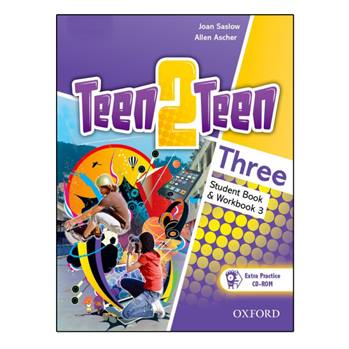 کتاب Teen2Teen Three اثر Joan Saslow and Allen Ascher انتشارات Oxford