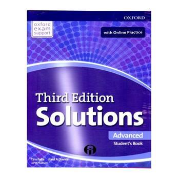 کتاب Solutions Advanced Third Edition اثر Tim Falla And Paul A Davies انتشارات الوندپویان