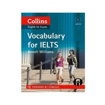 کتاب Vocabulary for IELTS اثر Anneli Williams انتشارات الوند پویان