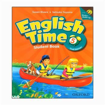 کتاب english time 5 اثر susan rivers and setsuko toyama انتشارات رهنما
