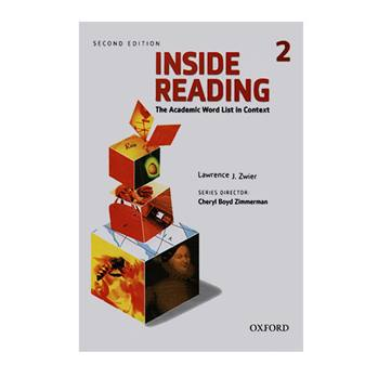 کتاب INSIDE READING 2 اثر لورنس جی لوییر انتشارات آکسفورد