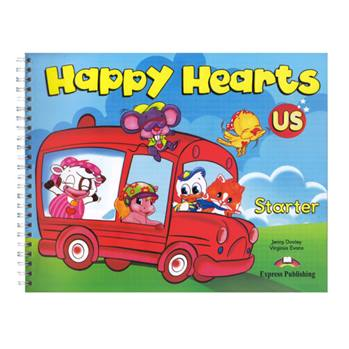 کتاب Happy Hearts Starter اثر Jenny Dooley and Virginia Evans انتشارات Express Publishing