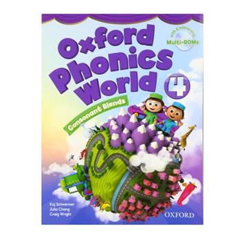 کتاب Oxford Phonics World 4 اثر جمعی از نویسندگان انتشارات Oxford