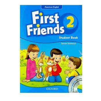 کتاب First Friends 2 اثر Susan Lannuzzi انتشارات Oxford