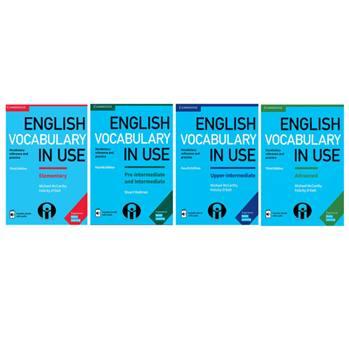 کتاب English Vocabulary in Use اثر Michael McCarthy And Felicity ODell انتشارات الوندپویان چهارجلدی
