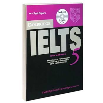 کتاب IELTS 5 اثر جمعی از نویسندگان انتشارات Cambridge
