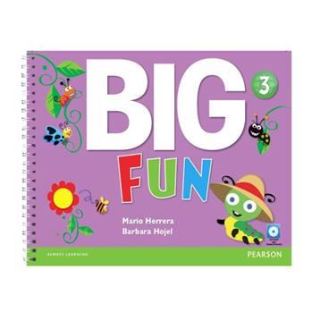 کتاب Big Fun 3 اثر Mario Herrara And Barbara Hojel انتشارات Pearson