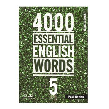 کتاب 4000Essential English Words 5 اثر Paul Nation انتشارات Compas Publishing