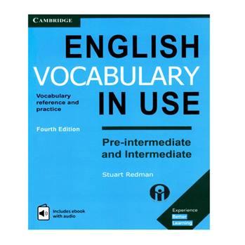 کتاب English Vocabulary In Use Pre-Intermediate اثر Stuart Redman انتشارات الوندپویان