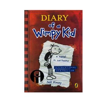 کتاب Diary of a Wimpy Kid a novel in Cartoons اثر Jeff Kinney انتشارات الوند پویان