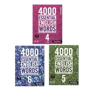 کتاب 4000Essential English Words اثر Paul Nation انتشارات الوندپویان جلد 4 تا 6