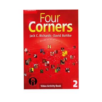 کتاب Four Corners 2 Video Activity Book اثر Jack C. Richards And David Bohlke انتشارات الوند پویان