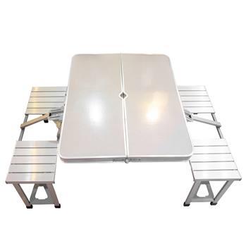 میز و صندلی سفری تمام آلومینیوم