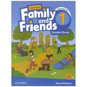 کتاب American Family And Friends 1 اثر Naomi Simmons انتشارات Oxford