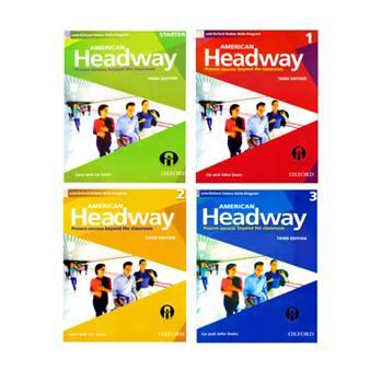 کتاب American Headway 3Rd Editionاثر John And Liz Soars انتشارات الوندپویان چهارجلدی