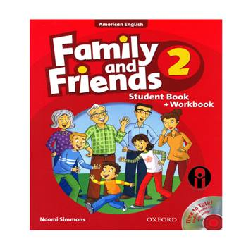 کتاب Family and Friends 2 اثر Naomi Simmons انتشارات الوندپویان