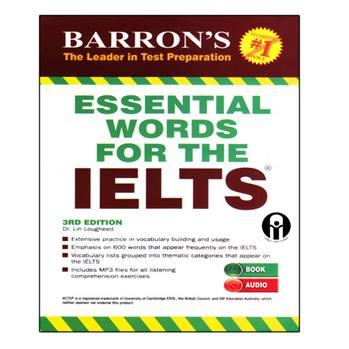 کتاب Essential Words For The IELTS اثر جمعی از نویسندگان انتشارات الوندپویان