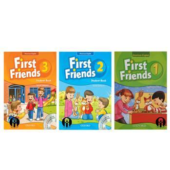 کتاب First Friends اثر Susan Lannuzzi انتشارات الوندپویان 3 جلدی