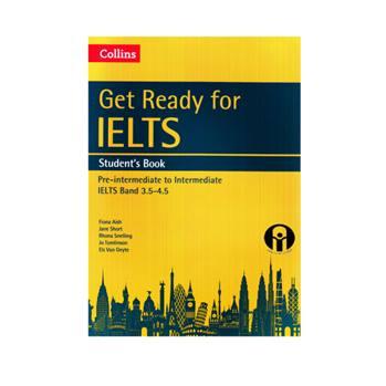کتاب Collins Get Ready for IELTS Band 3.5-4.5 اثر جمعی از نویسندگان انتشارات الوند پویان