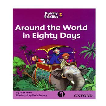 کتاب Around the World in Eighty Days اثر Jules Verne انتشارات الوند پویان