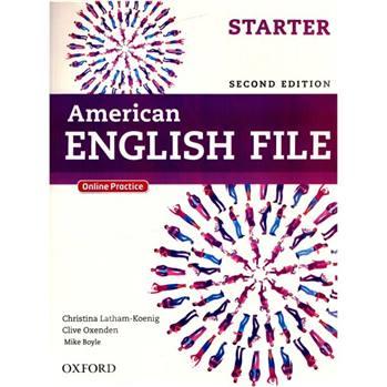 کتاب American English File اثر کریستینا لاثام - دو جلدی