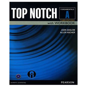 کتاب Top Notch Fundamentals A اثر Joan Saslow And Allen Ascher انتشارات الوندپویان