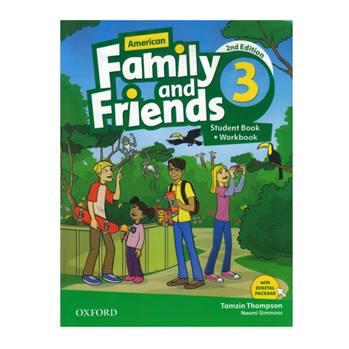 کتاب American Family And Friends 3 اثر Tamzin Thompson And Noami Simmons انتشارات Oxford