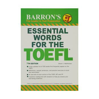 کتاب ESSENTIAL WORDS FOR THE TOEFL اثر Steven J.Matthiesen انتشارات BARRONS