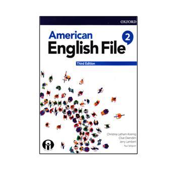 کتاب American English File 2 Third Edition اثر جمعی از نویسندگان انتشارات الوند پویان