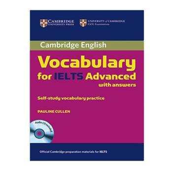 کتاب Vocabulary For Ielts Advanced اثر Pauline Cullen انتشارات Cambridge