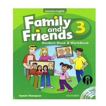 کتاب Family and Friends 3 اثر Tamzin Thompson انتشارات الوندپویان