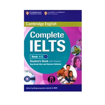 کتاب Complete IELTS Bands 4-5 B1 اثر Guy Brook-Hart And Vanessa Jakeman انتشارات الوند پویان