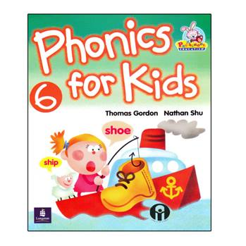 کتاب Phonics For Kids 6 اثر Thomas Gordon And Nathan Shu انتشارات الوندپویان
