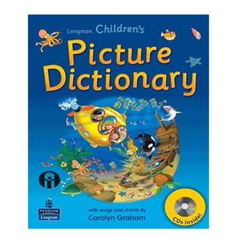 کتاب Longman Childrens Picture Dictionary اثر Caroln Graham انتشارات الوندپویان