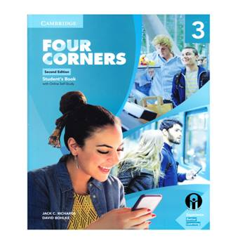 کتاب Four Corners 3 Second Edition اثر Jack C. Richards And David Bohlke انتشارات الوندپویان