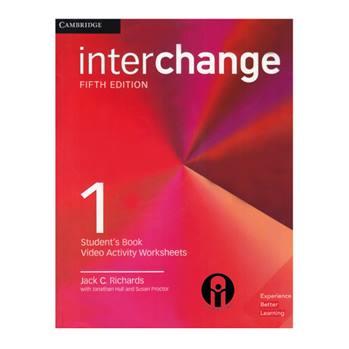 کتاب Interchange 1 اثر جمعی از نویسندگان انتشارات الوندپویان
