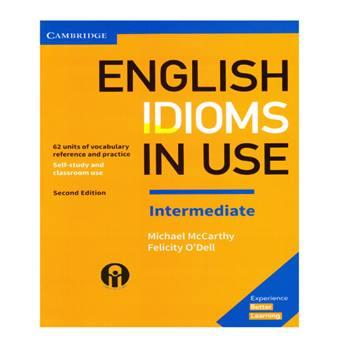 کتاب English Idioms In Use Intermediate اثر Michael McCarthy And Felicity O`dell انتشارات الوندپویان