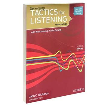 کتاب TACTICS for LISTENING Developing اثر Jack C. Richards and Grant Trew انتشارات Oxford