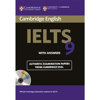 کتاب  Cambridge English IELTS 9 اثر جمعی از نویسندگان انتشارات Cambridge