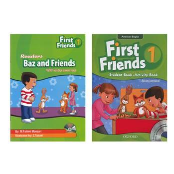 کتاب First Friends 1 اثر Susan Iannuzzi And M.Fahimi Monzari انتشارات Oxford دو جلدی