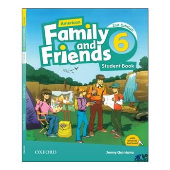 کتاب AMERICAN FAMILY AND FRIENDS 6