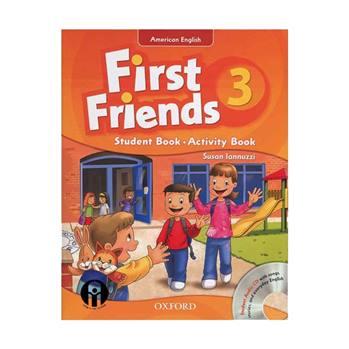 کتاب First Friends 3 اثر Susan Lannuzzi انتشارات الوندپویان