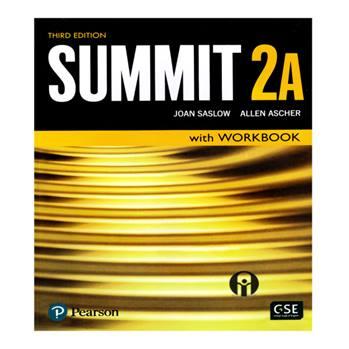 کتاب Summit 2A اثر Joan Saslow And Allen Ascher انتشارات الوندپویان