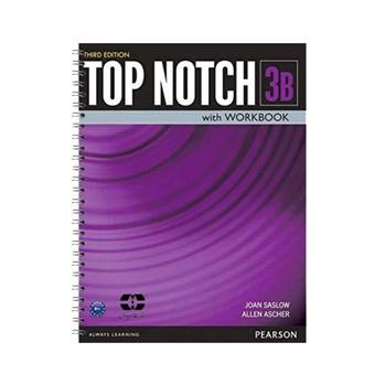 کتاب Top Notch 3B اثر Joan Saslow And Allen Ascher انتشارات سپاهان
