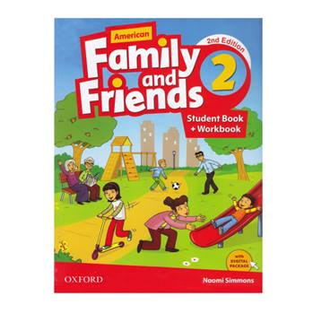 کتاب American Family And Friends 2 اثر Naomi Simmons انتشارات Oxford