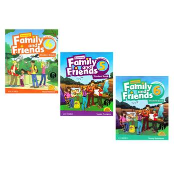 Family and Friendsکتاب Family and Friends Second Edition اثر Naomi Simmons انتشارات الوندپویان جلد 4 تا 6