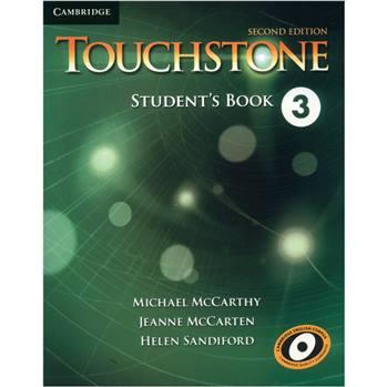 کتاب زبان Touchstone 3 Students book And Workbook اثر Michael McCarthy