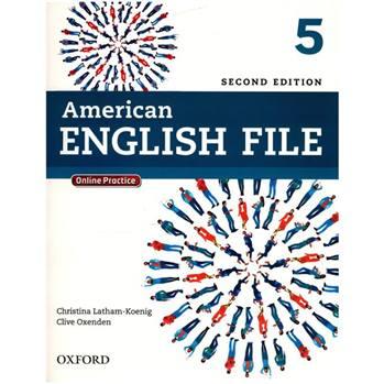 کتاب 5 American English File اثر کریستینا لاثام - دو جلدی